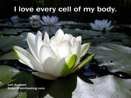 a1 love every cell White-Lotus-Flower-