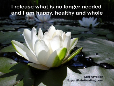 I release what is no longer needed happy healthy whole June 2017