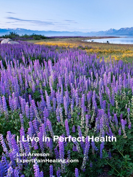 a1 I live in perfect health lupine