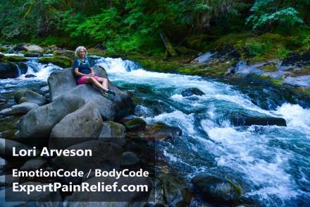 Lori rock on Salmon River